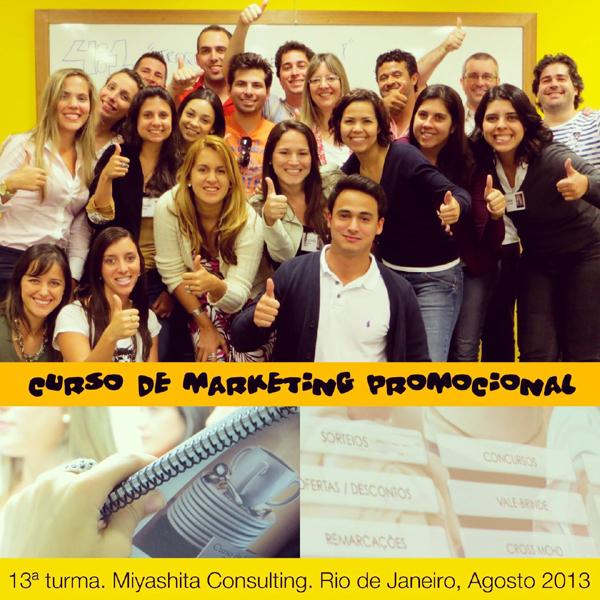 13ª turma do Curso de Marketing Promocional e Live Marketing
