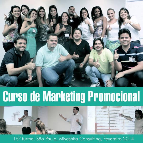 15ª turma do Curso de Marketing Promocional e Live Marketing