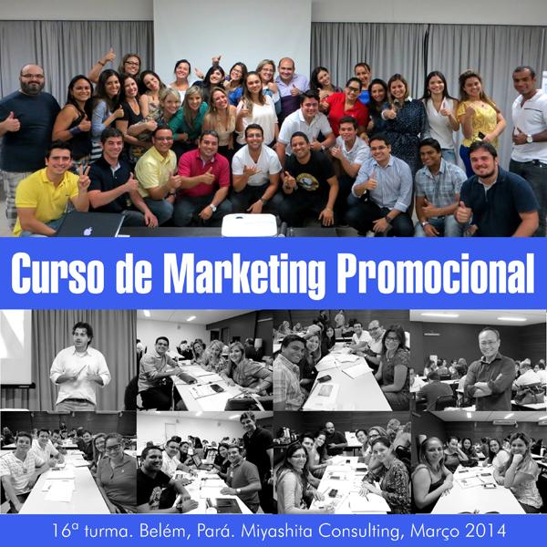 16ª turma do Curso de Marketing Promocional e Live Marketing
