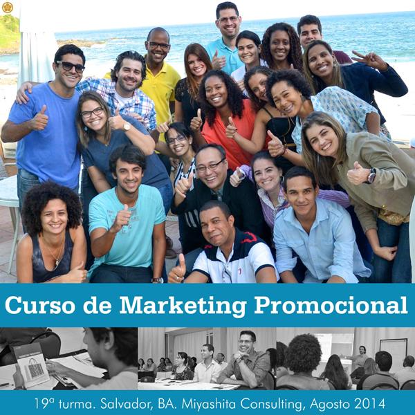 19ª turma do Curso de Marketing Promocional e Live Marketing