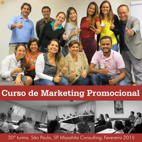 20ª turma do Curso de Marketing Promocional e Live Marketing