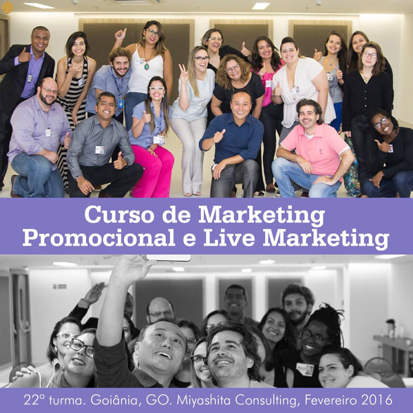 Curso de Marketing Promocional e Live Marketing - 22ª turma