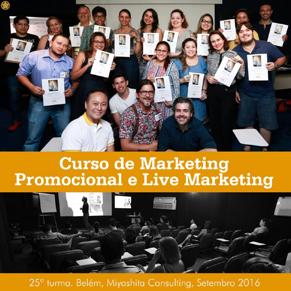 Curso de Marketing Promocional e Live Marketing - 25ª turma