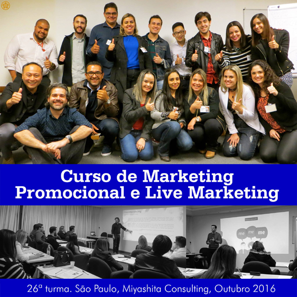 Curso de Marketing Promocional e Live Marketing - 26ª turma