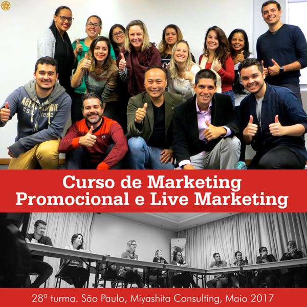 Curso de Marketing Promocional e Live Marketing - 28ª turma