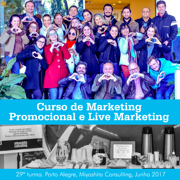 Curso de Marketing Promocional e Live Marketing - 29ª turma
