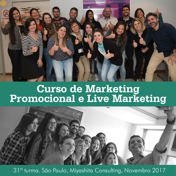 Curso de Marketing Promocional e Live Marketing