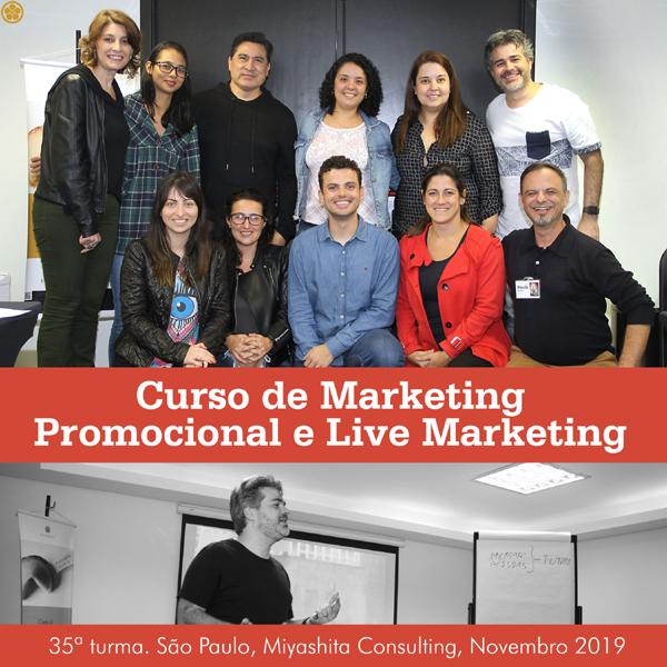 Curso de Marketing Promocional e Live Marketing