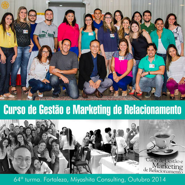 64ª turma do Curso de Gestão e Marketing de Relacionamento
