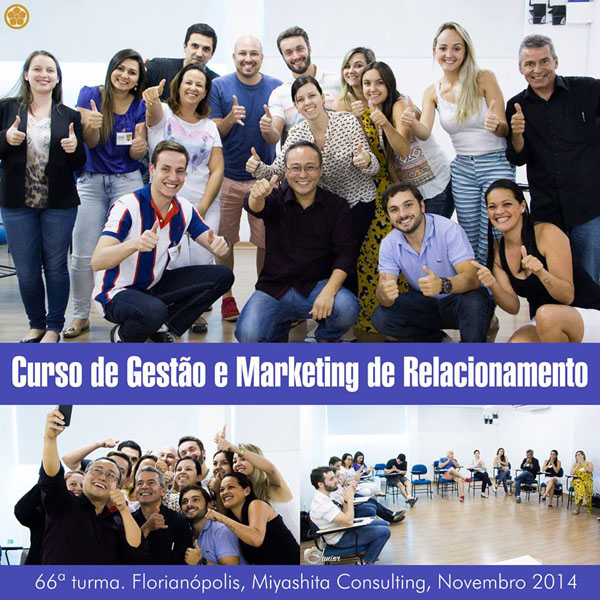66ª turma do Curso de Gestão e Marketing de Relacionamento