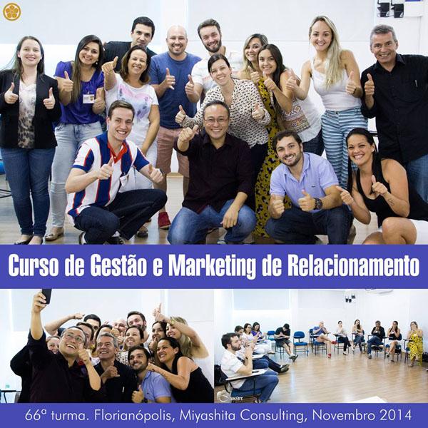 Curso de Gestão e Marketing de Relacionamento - 66ª turma