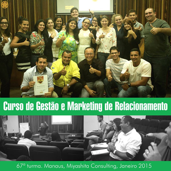 67ª turma do Curso de Gestão e Marketing de Relacionamento