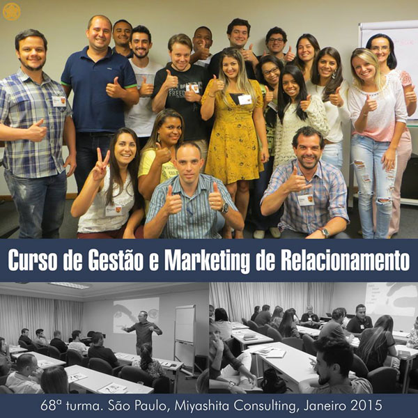 68ª turma do Curso de Gestão e Marketing de Relacionamento