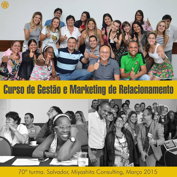 70ª turma do Curso de Gestão e Marketing de Relacionamento
