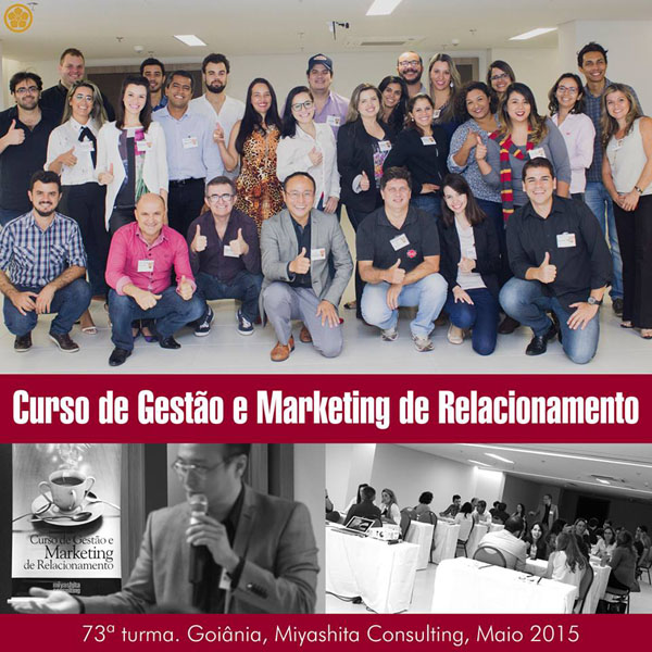 73ª turma do Curso de Gestão e Marketing de Relacionamento