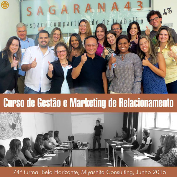 74ª turma do Curso de Gestão e Marketing de Relacionamento