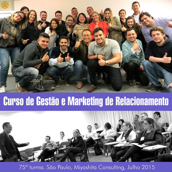 75ª turma do Curso de Gestão e Marketing de Relacionamento
