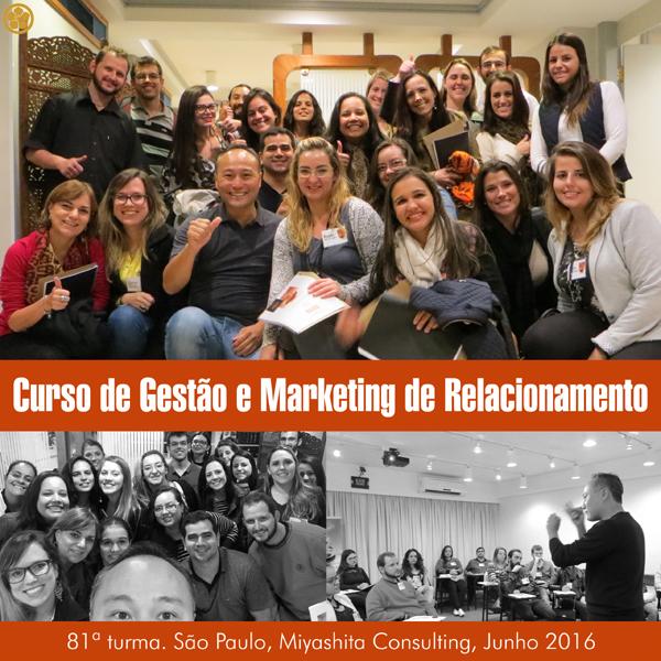 81ª turma do Curso de Gestão e Marketing de Relacionamento