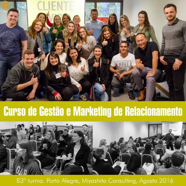 Curso de Gestão e Marketing de Relacionamento - 83ª turma