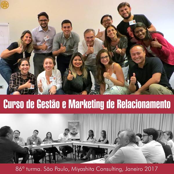Curso de Gestão e Marketing de Relacionamento - 86ª turma