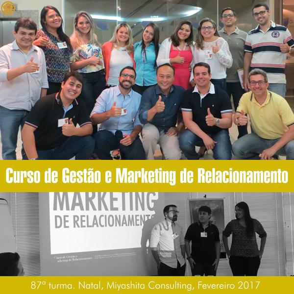 Curso de Gestão e Marketing de Relacionamento - 87ª turma