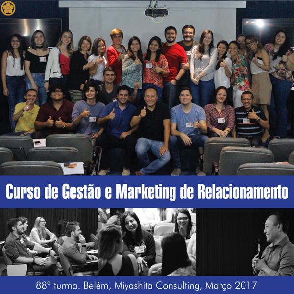 Curso de Gestão e Marketing de Relacionamento - 88ª turma