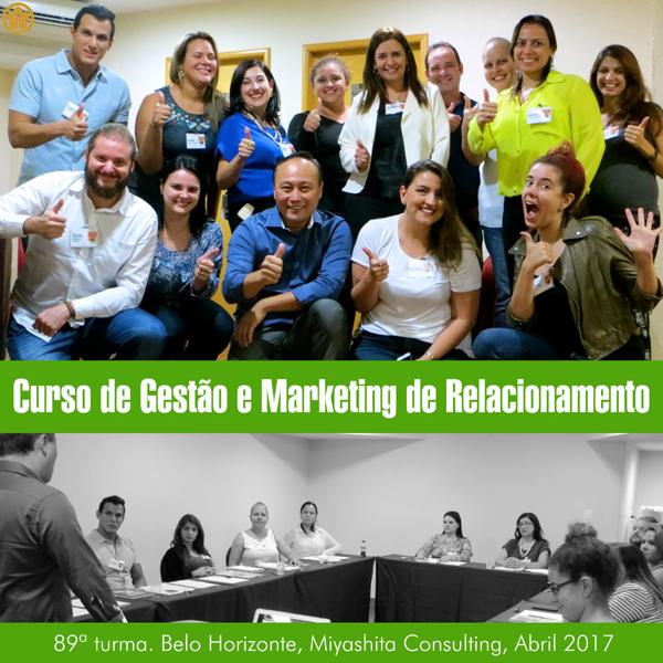 Curso de Gestão e Marketing de Relacionamento - 89ª turma