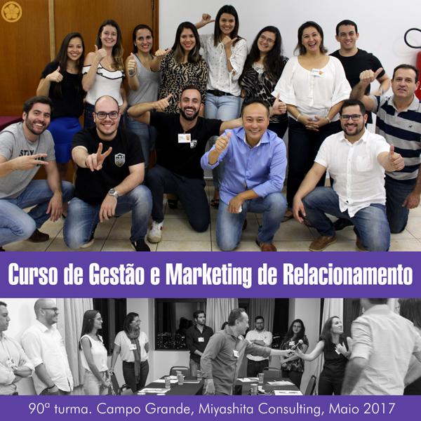 Curso de Gestão e Marketing de Relacionamento - 90ª turma