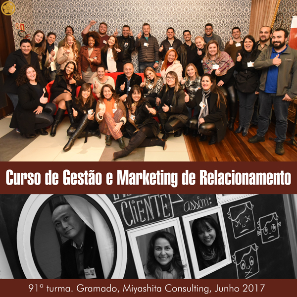 Curso de Gestão e Marketing de Relacionamento - 91ª turma