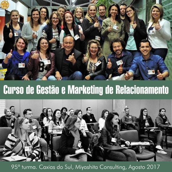 Curso de Gestão e Marketing de Relacionamento - 95ª turma