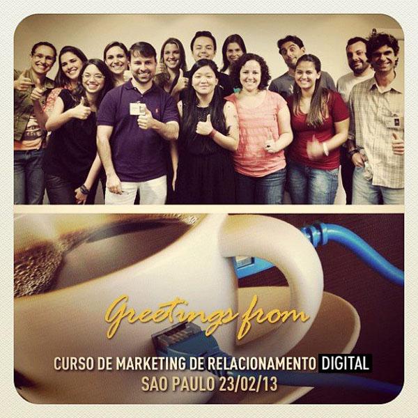 14ª turma do Curso de Marketing de Relacionamento Digital