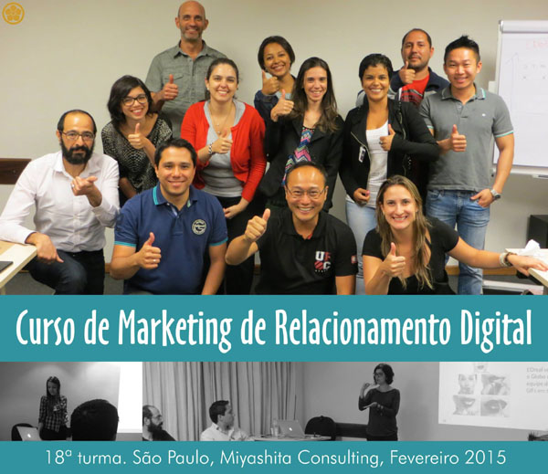 18ª turma do Curso de Marketing de Relacionamento Digital