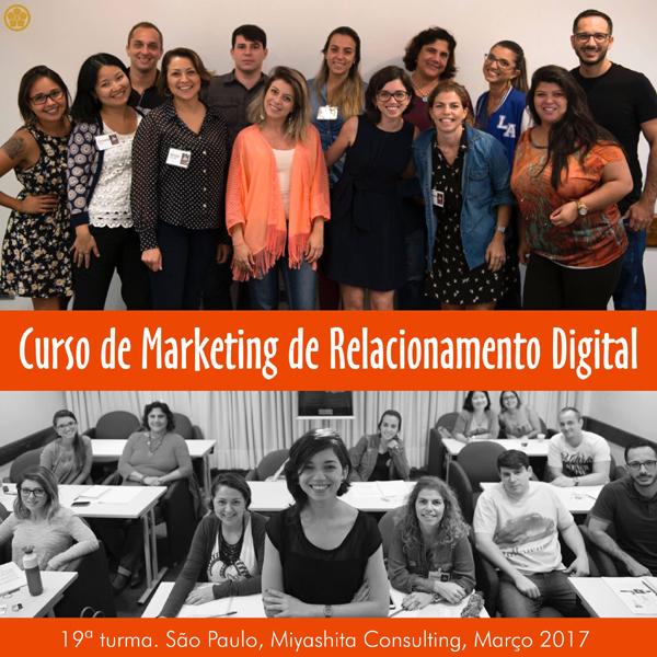 Curso de Marketing de Relacionamento Digital - 19ª turma
