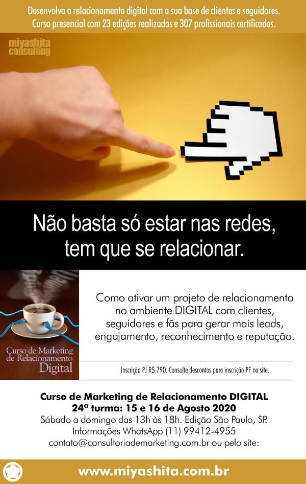 Curso de Marketing de Relacionamento Digital