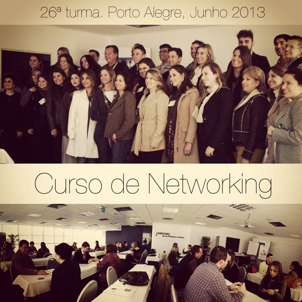 Curso de Networking e Marketing Pessoal - 26ª turma