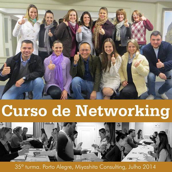 Curso de Networking e Marketing Pessoal - 35ª turma