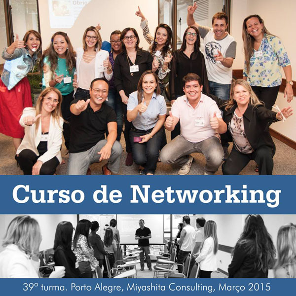 Curso de Networking e Marketing Pessoal - 39ª turma