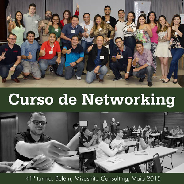 41ª turma do Curso de Networking e Marketing Pessoal