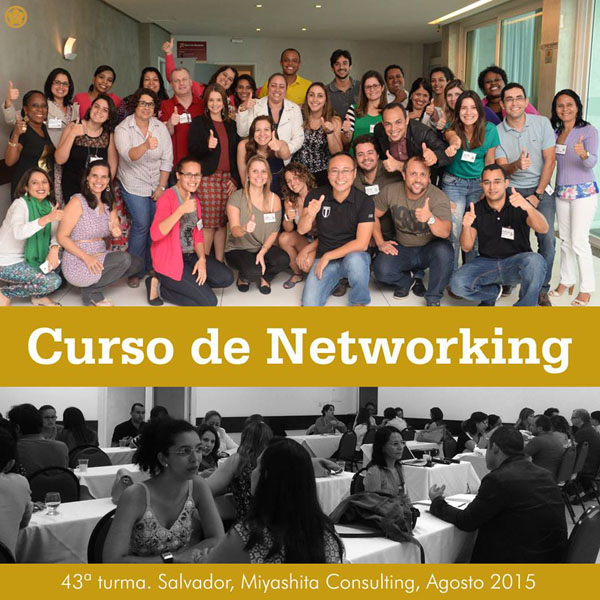 43ª turma do Curso de Networking e Marketing Pessoal