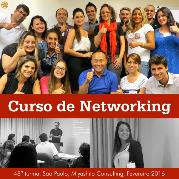 48ª turma do Curso de Networking e Marketing Pessoal