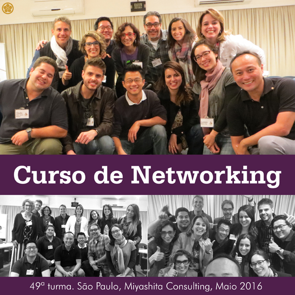 49ª turma do Curso de Networking e Marketing Pessoal