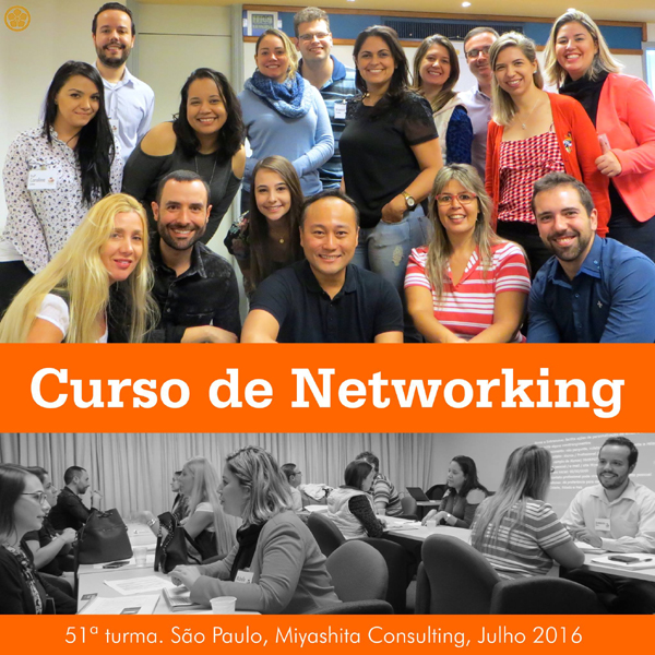 Curso de Networking e Marketing Pessoal - 51ª turma