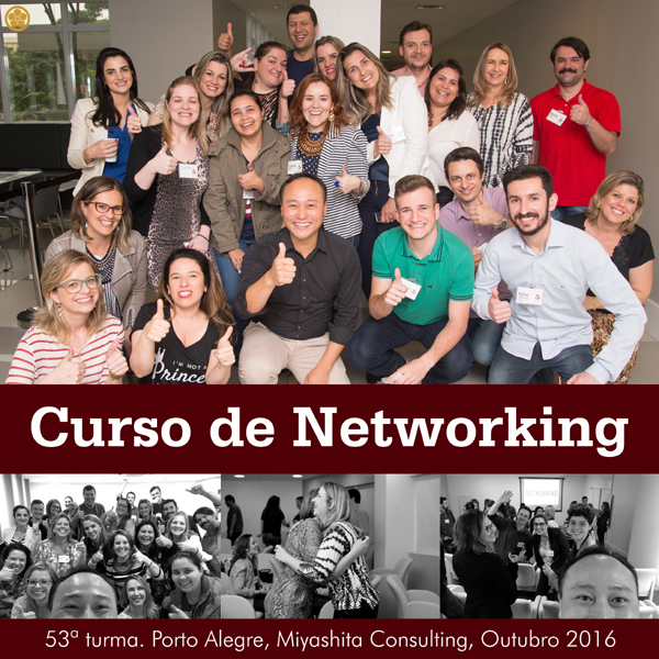 Curso de Networking e Marketing Pessoal - 53ª turma