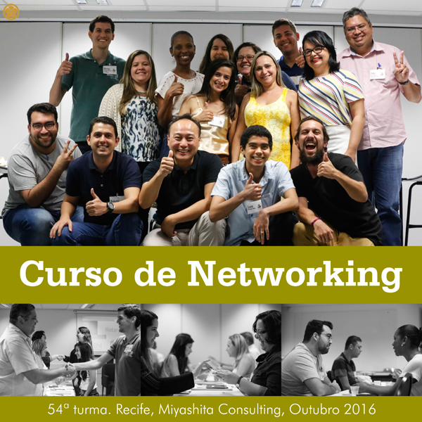 Curso de Networking e Marketing Pessoal - 54ª turma