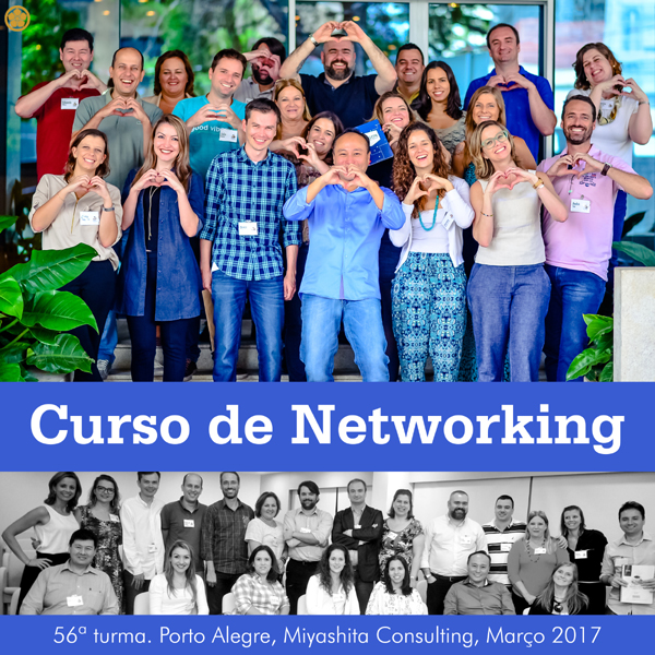 Curso de Networking e Marketing Pessoal - 56ª turma