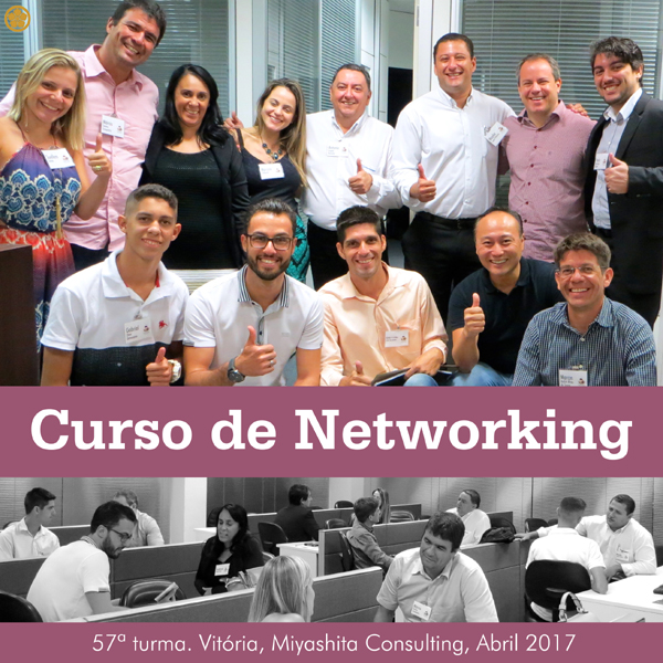 Curso de Networking e Marketing Pessoal - 57ª turma