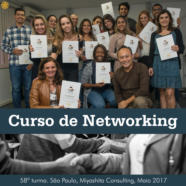 Curso de Networking e Marketing Pessoal - 58ª turma
