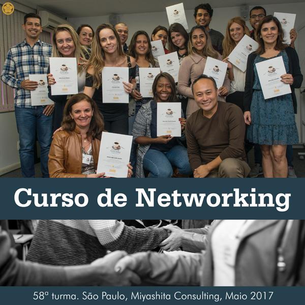 Curso de Networking e Marketing Pessoal - 58ª turma