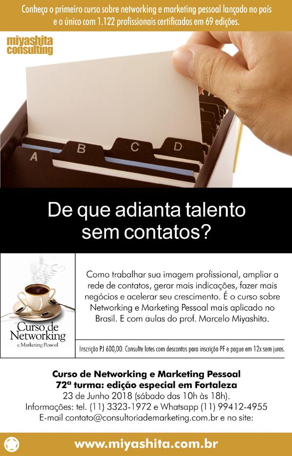 Curso de Networking e Marketing Pessoal
