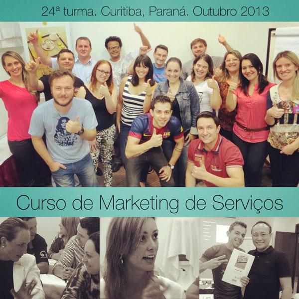 24ª turma do Curso de Marketing de Serviços e Gestão de Atendimento